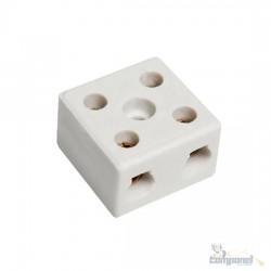 Conector Sindal Porcelana 2 Polos 10mm